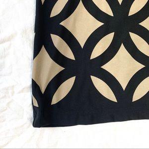 Roz & Ali Dresses - Roz & Ali Size 4 Dress Black, Brown, And Cream